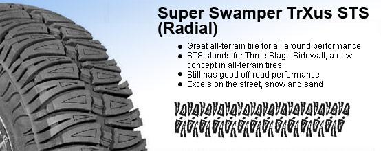 Super Swamper TrXus STS